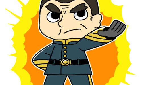 saigou-takamori-Military-uniform(軍服姿の西郷隆盛)