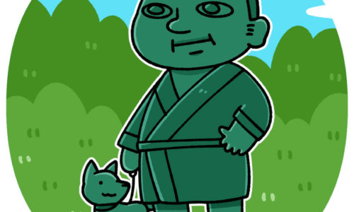takamori-saigo-statue(西郷隆盛像)