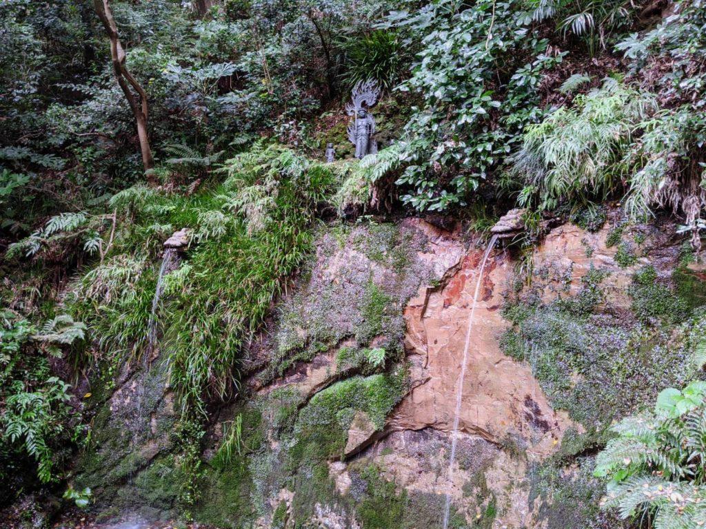 不動の滝(等々力渓谷)