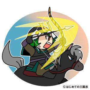 蒙古兵に先駆けをする竹崎季長(鎌倉武士)