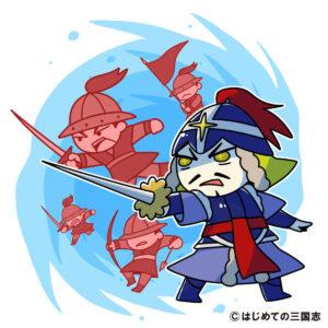 朝鮮水軍を率いて日本水軍を撃退する李舜臣