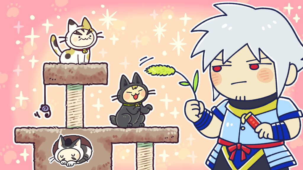 ASMR 2月 日本史 猫の日 オンライン雑談会